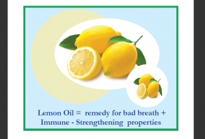 Lemon Oil for Oil Pulling